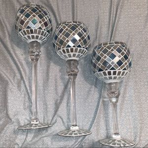 3 Piece Set Pillar Cups